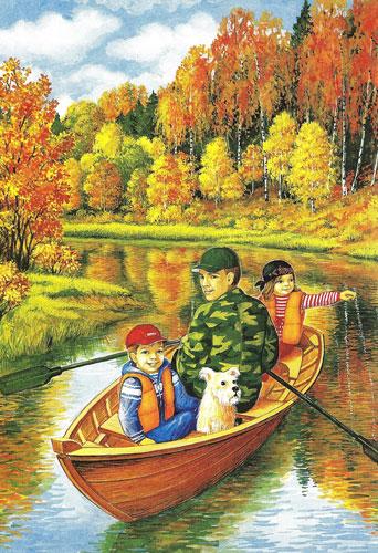 Загадки про сентябрь для детей 4-5 лет