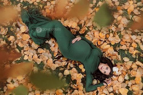 фотосессия беременных осенью на природе идеи фото 6
