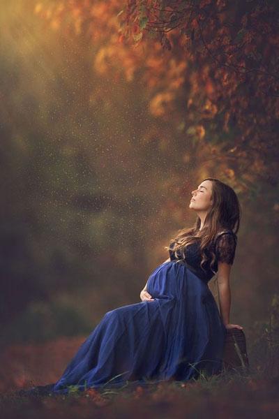фотосессия беременных осенью на природе идеи фото 4