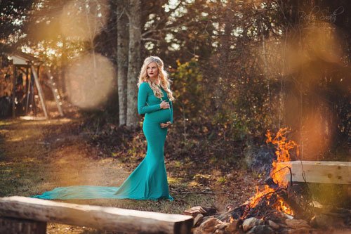 осенняя фотосессия беременных на природе образы 2