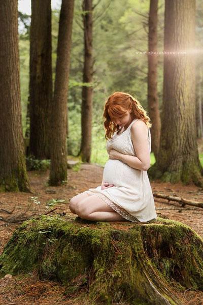 осенняя фотосессия беременных 4