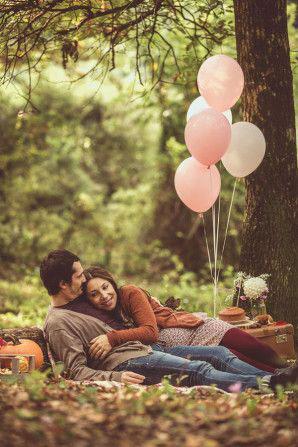 позы для фотосессии беременной на природе осенью фото 10