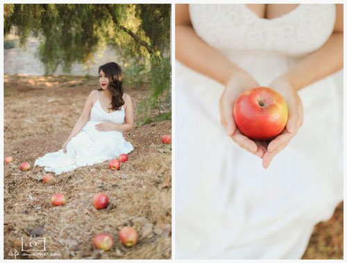 позы для фотосессии беременной на природе осенью фото 9