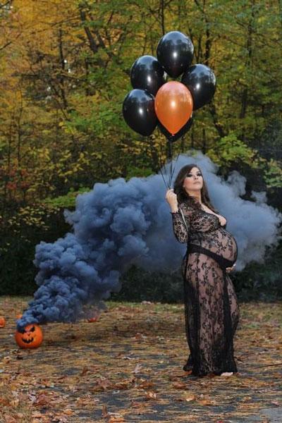 позы для фотосессии беременной на природе осенью фото 2
