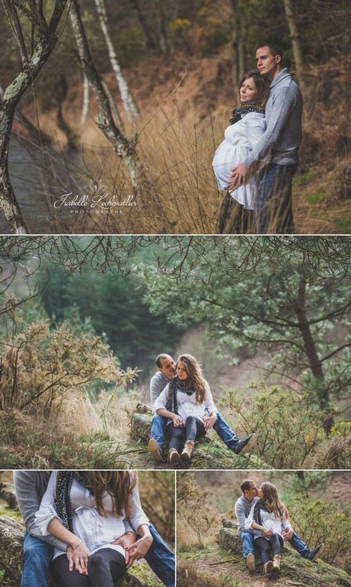 фотосессия беременных осенью на природе идеи фото 10