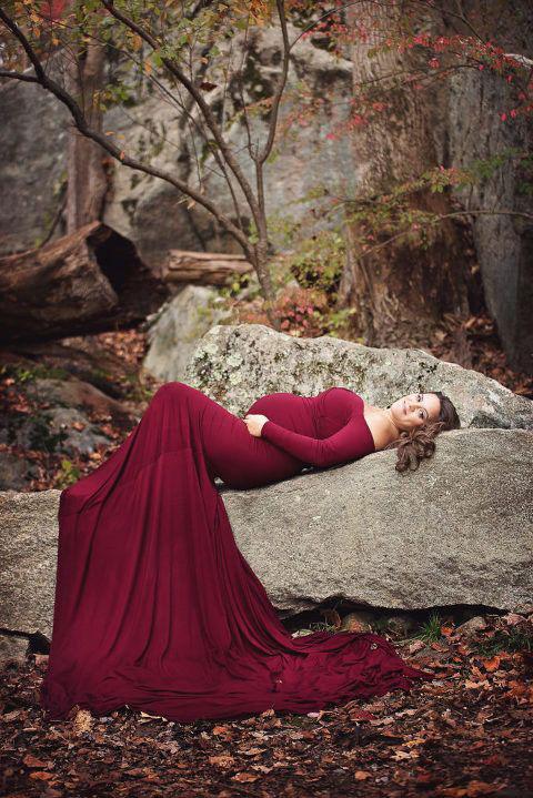 фотосессия беременных осенью на природе идеи фото 9