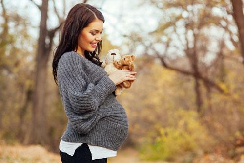 образ для фотосессии беременной осенью 4