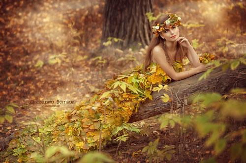 Фотосессия на природе осень идеи для девушки 6