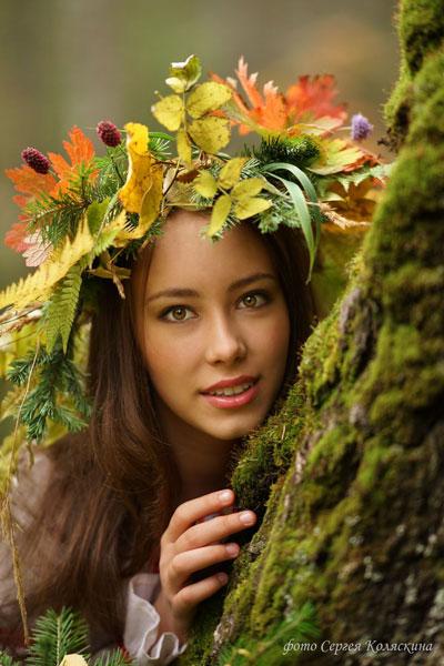 Фотосессия на природе осень идеи для девушки 9