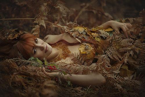 Фотосессия на природе осень идеи для девушки 4