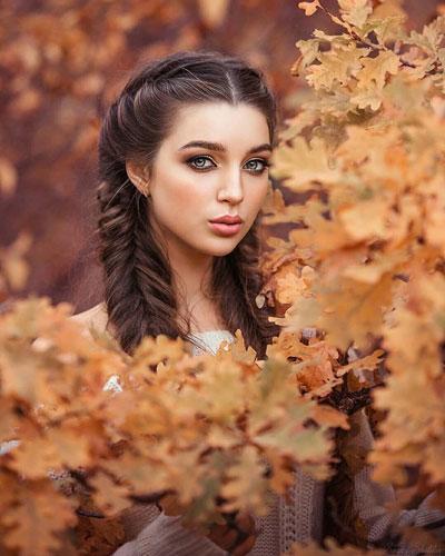 Фотосессия на природе осень идеи для девушки