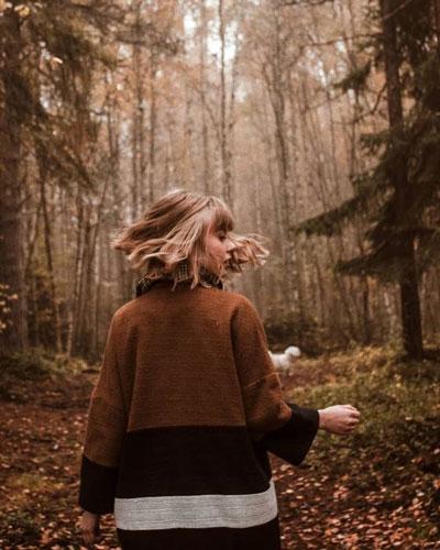 осенняя фотосессия для девушки на природе идеи 10