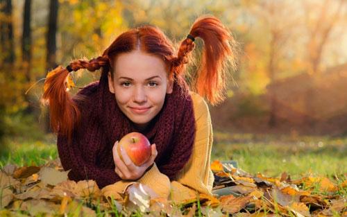 осенняя фотосессия на природе идеи для девушки 6