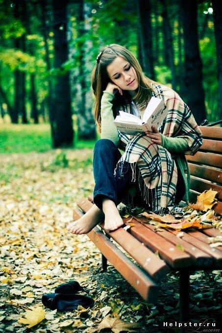 осенняя фотосессия для девушки на природе идеи 8