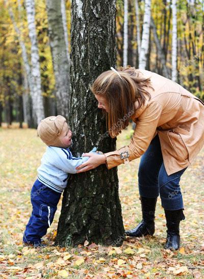 идеи для семейной фотосессии осенью на природе 5