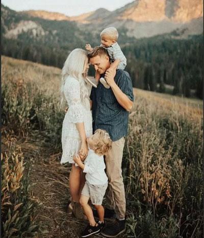 идеи для семейной фотосессии осенью на природе с детьми на природе 2