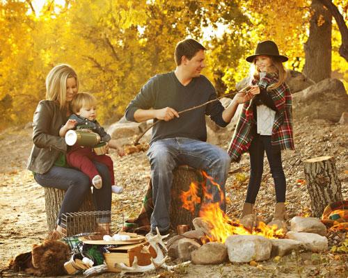 фотосессия семейная на природе осенью идеи оформления