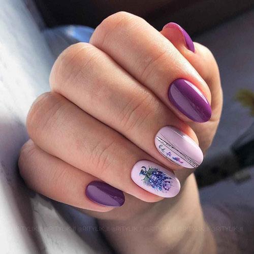 маникюр на осень короткие ногти фото дизайн