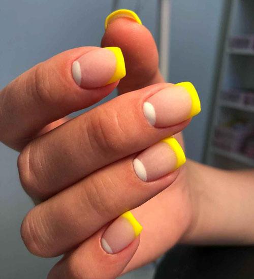 маникюр на короткие ногти осень 2021 шеллак