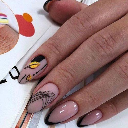 модные тенденции дизайна маникюра этой осенью 4