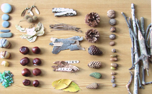 Поделки из природного материала для детей 2