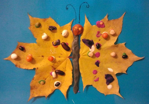 поделки своими руками на тему золотая осень в садик 10