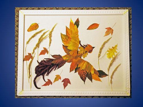 поделки своими руками на тему золотая осень в садик 9