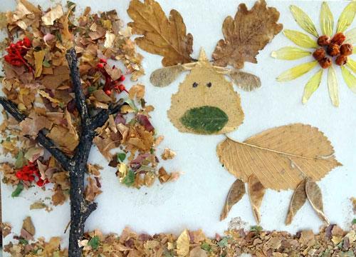 поделки своими руками на тему золотая осень в садик 8