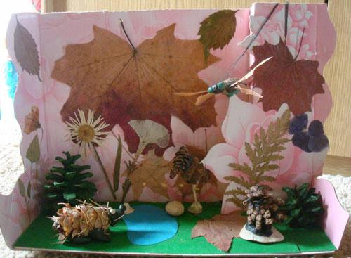 поделки своими руками на тему золотая осень в садик 4