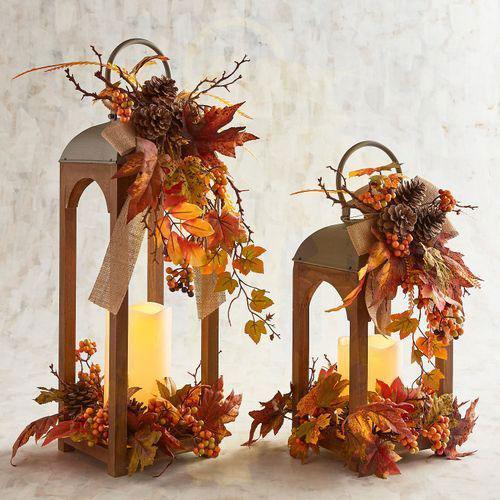 поделки на тему осень своими руками из природного материала 9