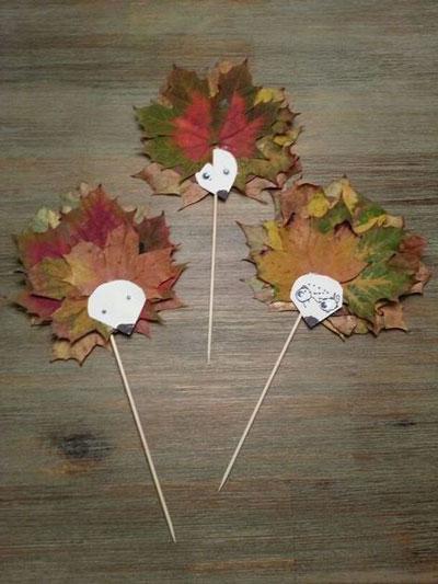 поделки на тему осень своими руками из природного материала 4
