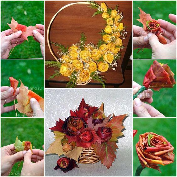 поделки из природного материала для начальной школы на тему осень своими руками 10