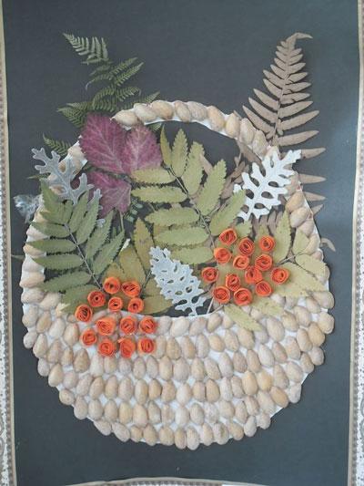 поделки из природного материала для начальной школы на тему осень своими руками 6