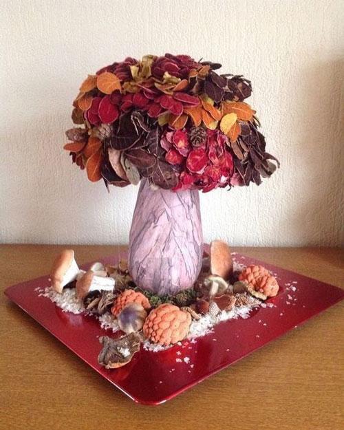 Поделки на тему Осень своими руками для детского сада простые 9