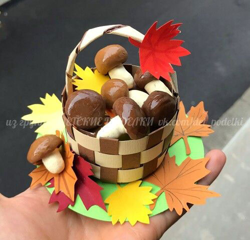 Поделки на тему Осень своими руками для детского сада простые 7