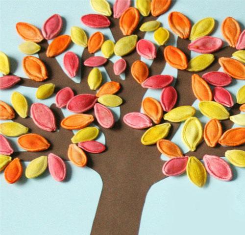 поделки на тему осень своими руками быстро и красиво из подручных материалов
