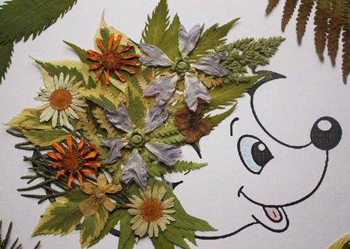 детские поделки с использованием природного материала 6