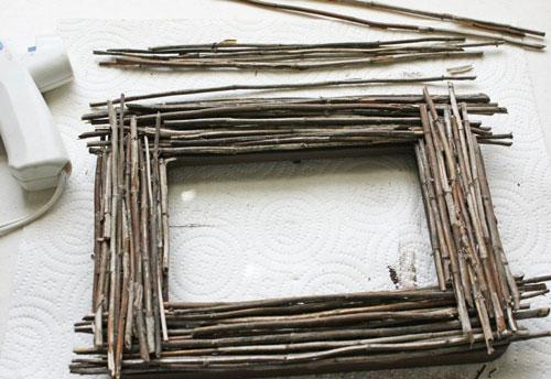 простые поделки из природных материалов для детей 8