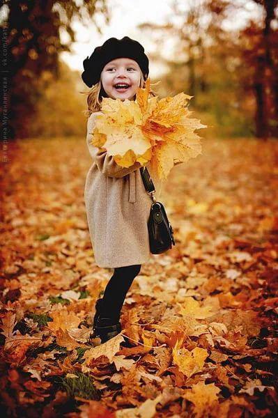 идеи оформления семейной фотосессии на природе осенью 3
