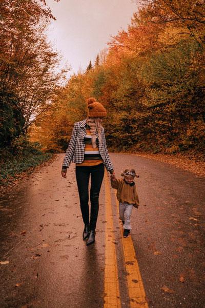 семейная фотосессия осенью на природе идеи фото с детьми 6