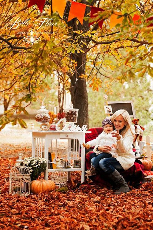 семейная фотосессия осенью на природе идеи фото с детьми 2
