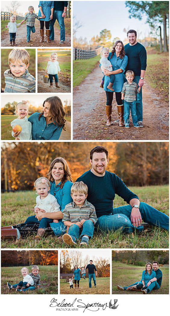идеи для семейной фотосессии осенью на природе с детьми 10