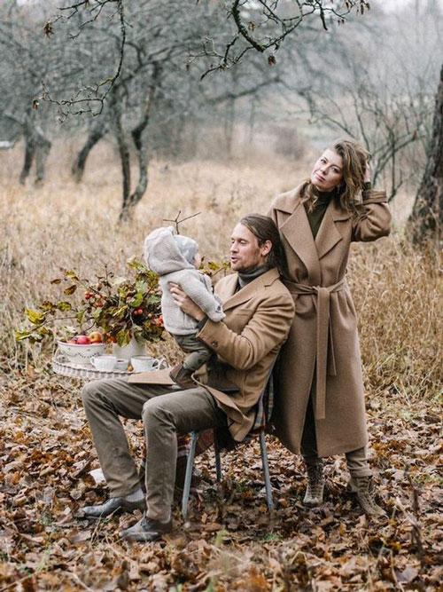 идеи оформления семейной фотосессии на природе осенью 2