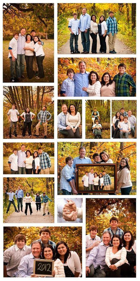 идеи для семейной фотосессии осенью на природе с детьми 7