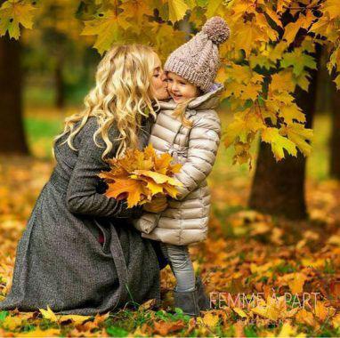 идеи для семейной фотосессии осенью на природе с детьми