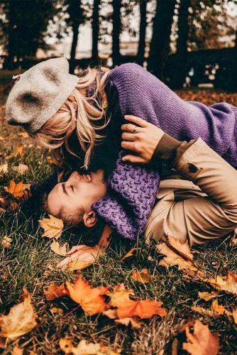 идеи для семейной фотосессии на природе осенью в лесу 10
