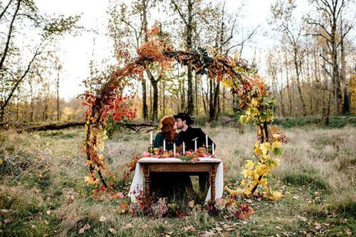 идеи для семейной фотосессии на природе осенью в лесу 4