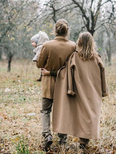 идеи для семейной фотосессии на природе осенью фото 10