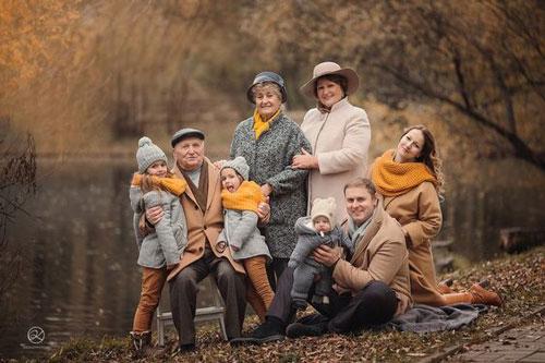 идеи для семейной фотосессии на природе осенью фото 9