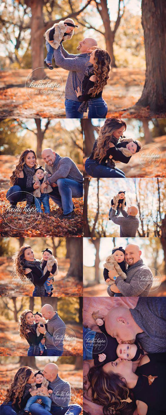 идеи для семейной фотосессии на природе осенью фото 5